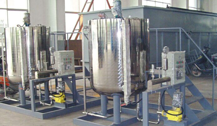 工艺流程       pac加药装置主要由溶液箱,絮凝剂计量泵,电气控制柜